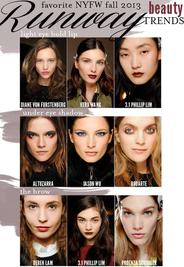 Fall 2013 Beauty Trends