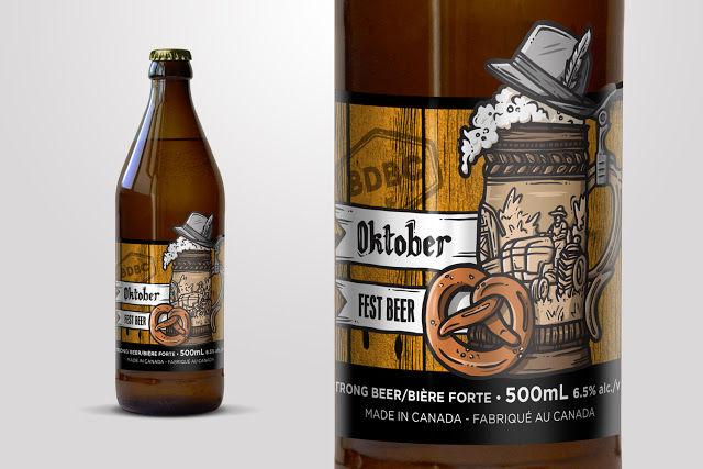 Autumnal Beer Branding