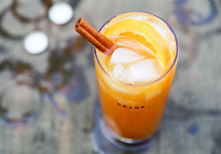 Pumpkin Beer Cocktails