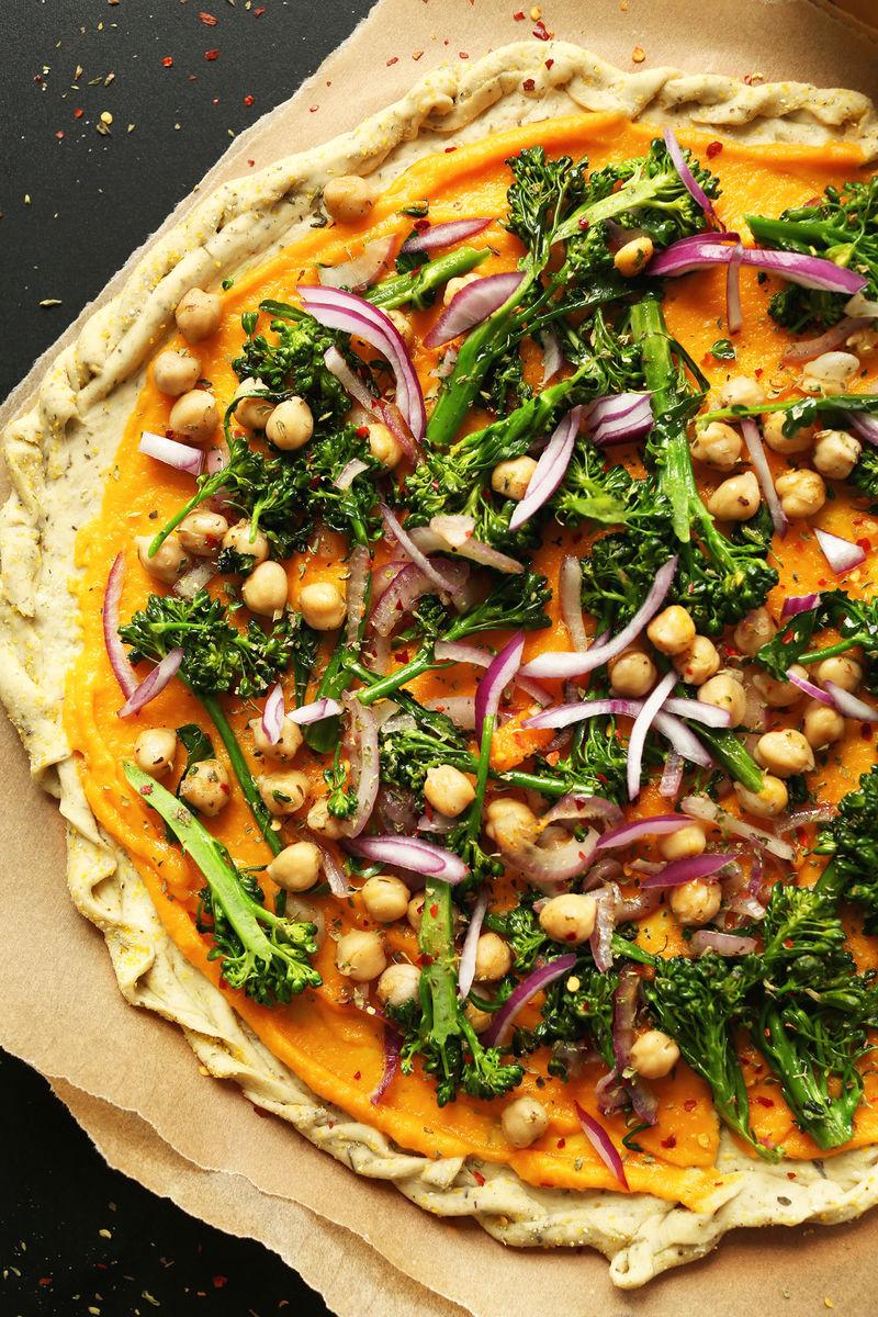 Seasonal Squash Pizzas