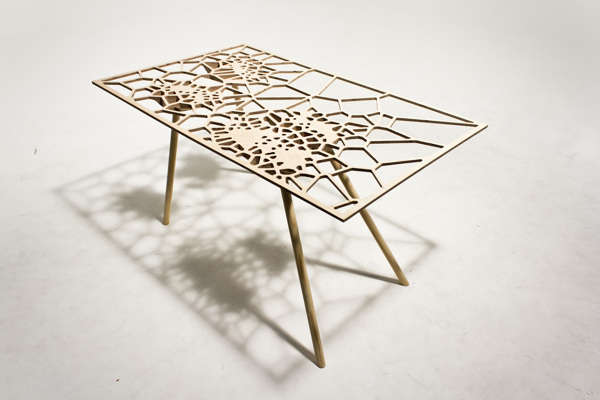 Web-Like Furniture Surfaces