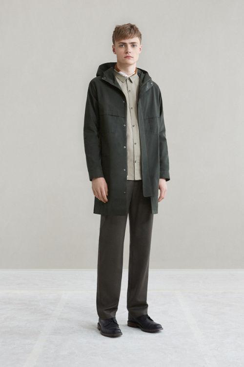 Clean-Cut Fall Clothing