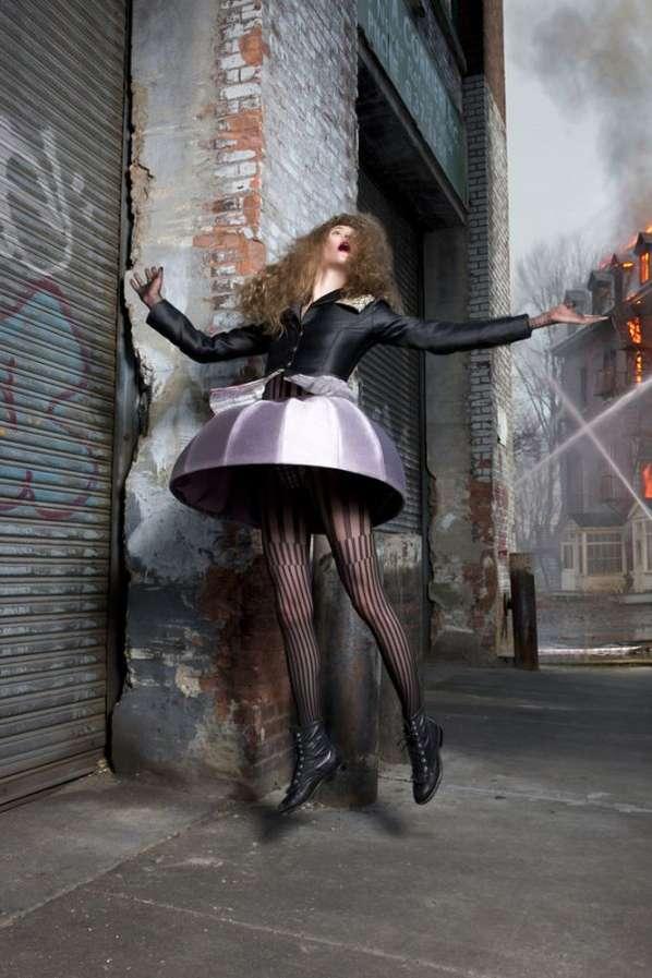 Falling Up Fashiontography
