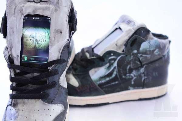 Gadget-Adorned Gamer Shoes