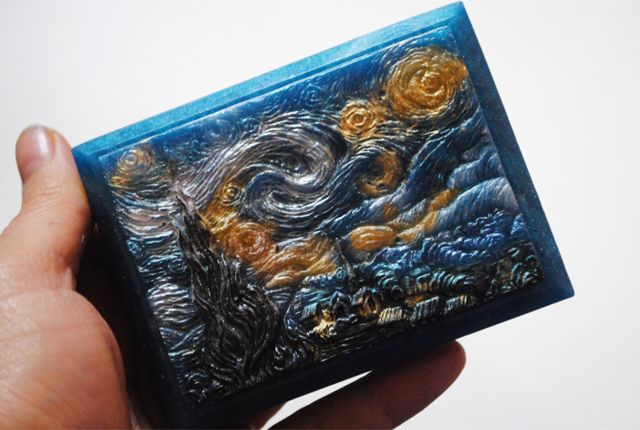 Famous Painting Soaps