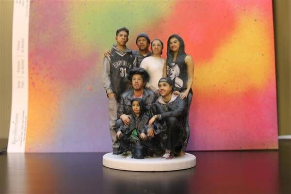 3D-Printed Family Portraits