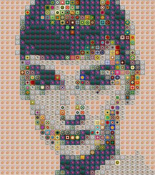 Donut-Infused Mosaics