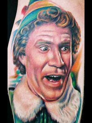 Famous People Tattoos Photos of Famous People Tattoos (Via: ew)
