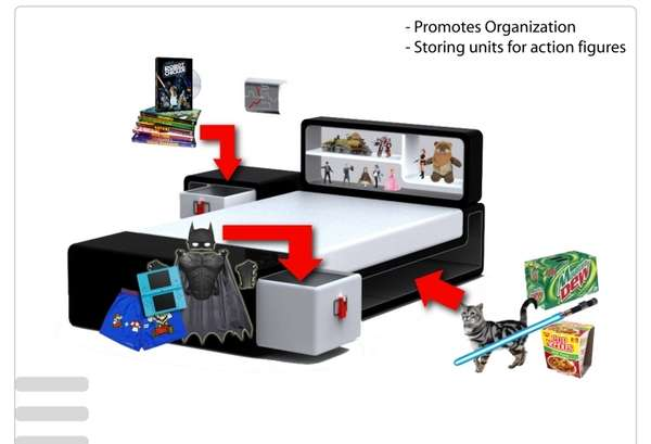 Geeky Guy Bedroom Sets