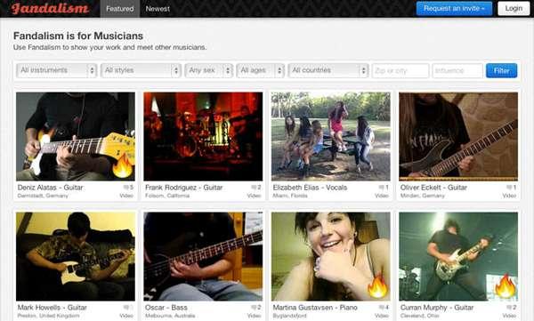 Musician Social Media