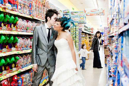 Toy Store Wedding Shoots
