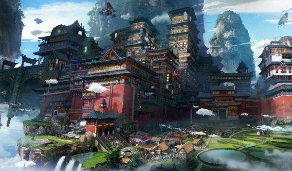 Enchanting Fantasy Environment Art
