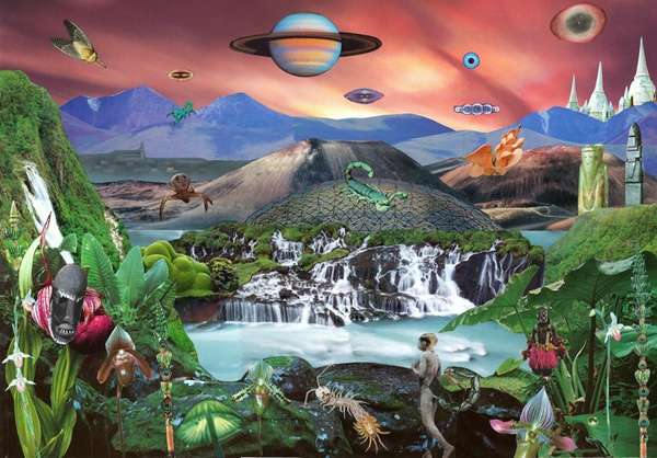 Surreal Scenery Collages