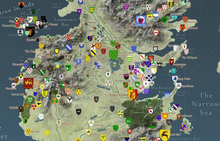 Interactive Fantasy Maps