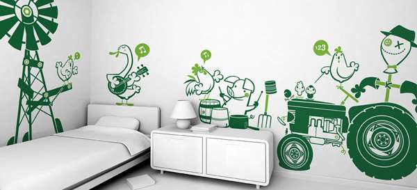 Fantasy Wall Stickers