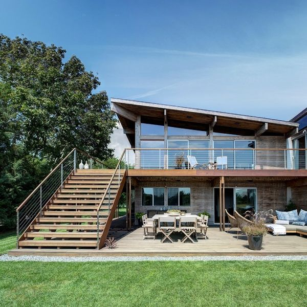 Scenic Wood-Paneled Homes