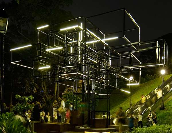 FARM Singapore Light Installation