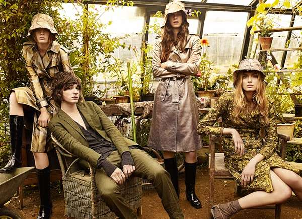 Greenhouse Fashion Ads