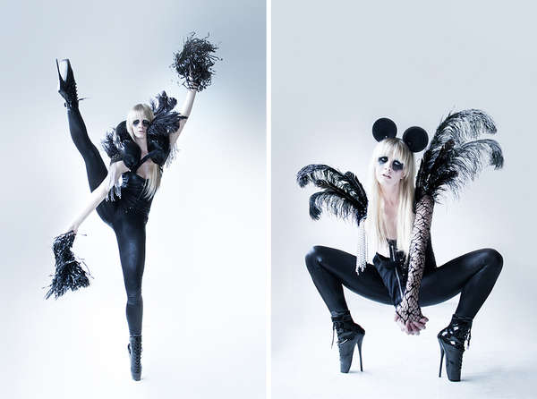 Gothic Cheerleader Editorials