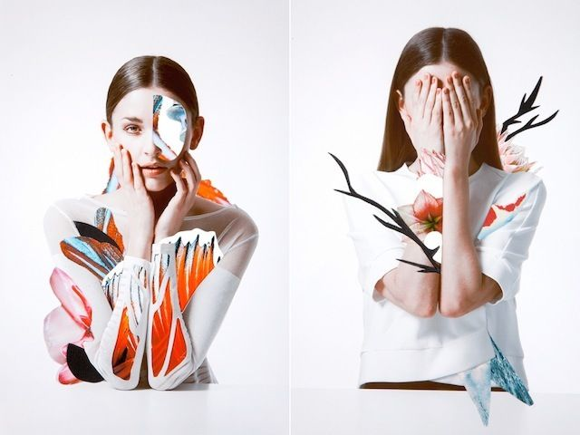Floral Fashion Collages