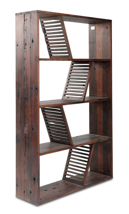 Restored Riverboat Bookcases