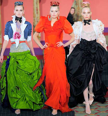 Technicolor Parisian Fashion
