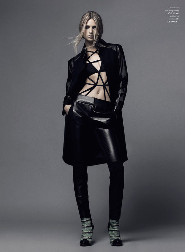 Edgy Autumn Editorials