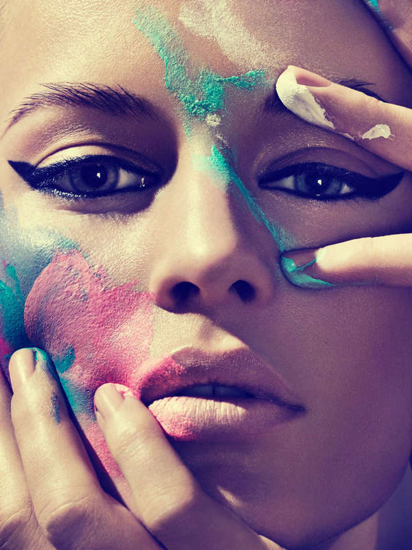 Smudged Makeup Editorials
