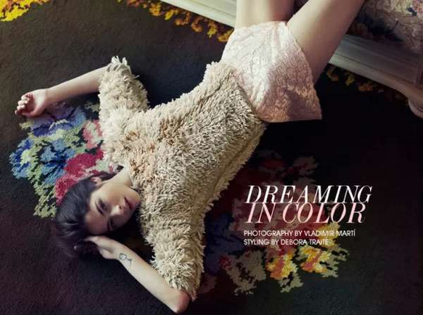 Softly Relaxed Editorials
