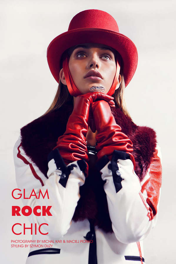 Fashion Gone Rogue 'Glam Rock Chic'