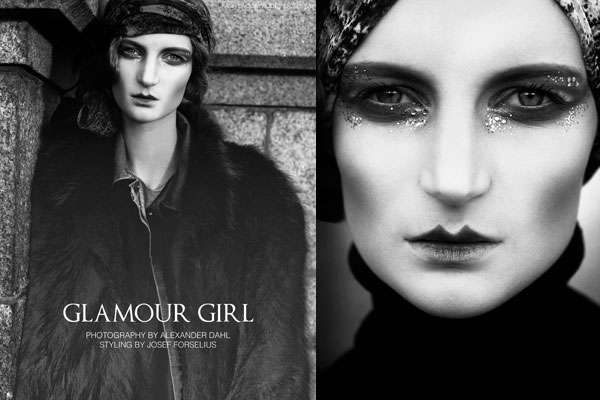 Stoic 20s Shoots : Fashion Gone Rogue Glamour Girl