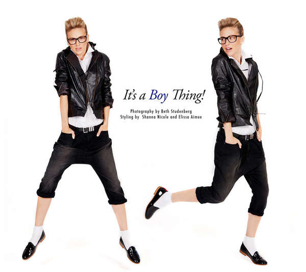 Chic Boyish Fashion