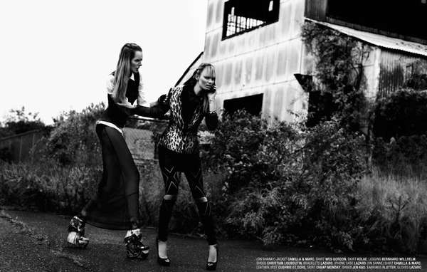 Rebellious Punk Editorials