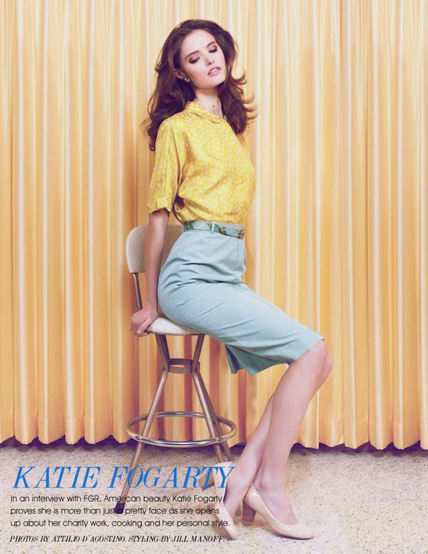 Yellow-Accented Editorials