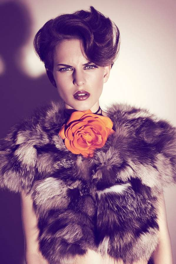 Furry Floral Editorials
