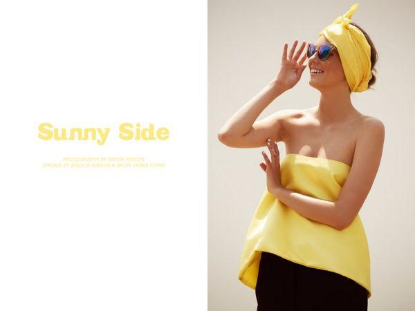 Cheerful Yellow Fashion