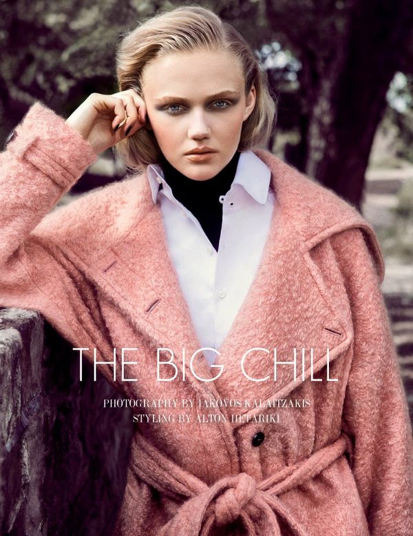 Luxe Overcoat Editorials
