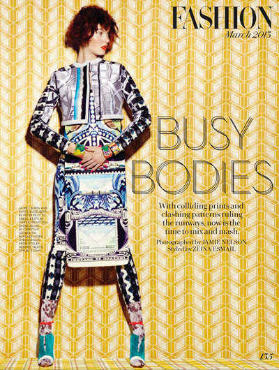 Fashion Magazine 'Busy Bodies'