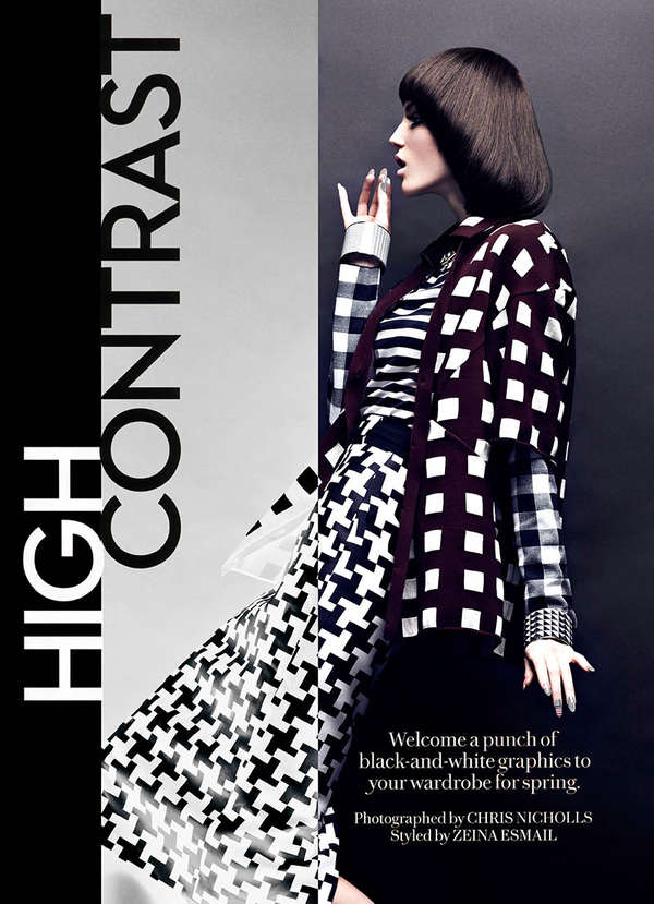 Fashion Magazine 'High Contrast'