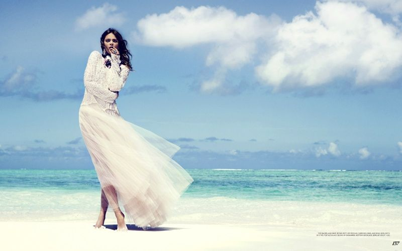 Unusually Upscale Beachside Editorials