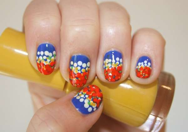 Couture-Inspired Nail Art