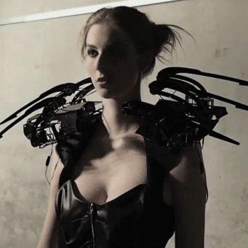 Macabre Robot Arachnid Fashion
