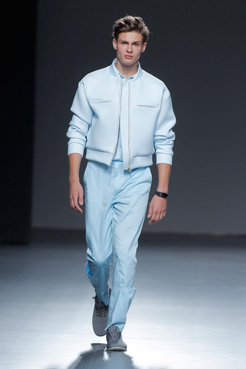 Futuristic Pastel Menswear