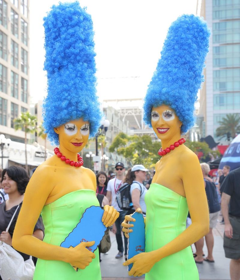 Fashionable Comic-Con Cosplayers