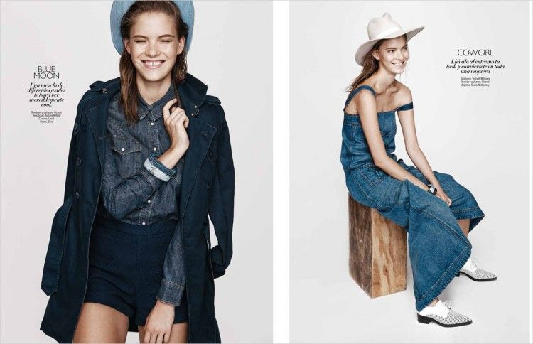 Effortless Denim Editorials