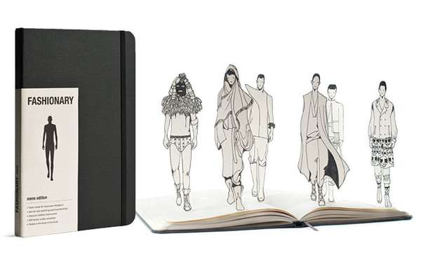All-in-One Fashion Sketchbooks