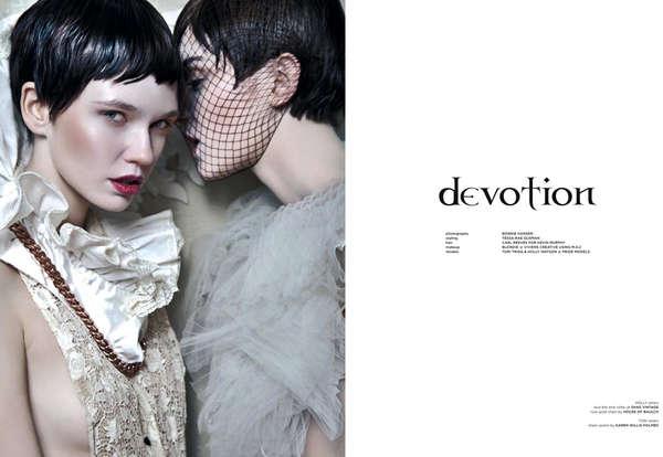 Modern Ethereal Bridal Fashion