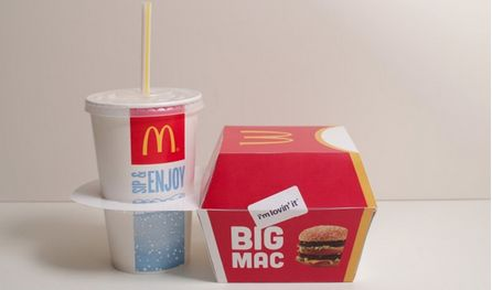 Compact Fast Food Containers