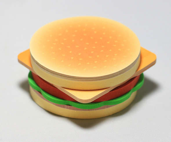 fast food sticky notes
