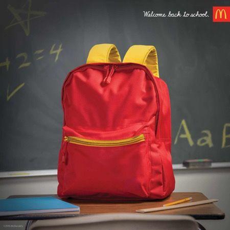 Academic Fast Food Ads